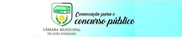 Concurso Público - Câmara Municipal de João Pinheiro