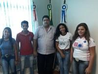 Alunos da Escola Família Agrícola de Natalândia solicitam apoio da Câmara Municipal de João Pinheiro