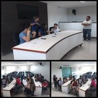 Alunos do Parlamento Jovem de João Pinheiro fazem simulação de plenária