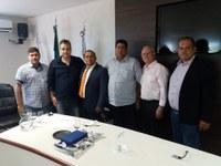 Câmara Municipal é visitada por Deputado Federal Flankin Lima