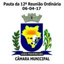 Confira a Pauta da 12ª Reunião Ordinária da Câmara Municipal de João Pinheiro