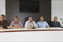 Empresários, produtores e lideranças políticas se reúnem com Superintendente do Ministério do Trabalho e Emprego