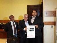 Presidente da Câmara Municipal de João Pinheiro é Homenageado pela Revista das Câmaras