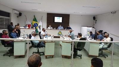 Resumo da 33ª Reunião Ordinária da Câmara Municipal de João Pinheiro-MG., da Primeira Sessão Legislativa – Legislatura 2021-2024 realizada em 20 de setembro de 2021 às 18:00 horas.