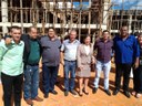 Vereadores pinheirenses visitam obras do Hospital Oncológico do Noroeste e Universidade Federal de Unaí