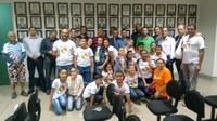 Vereadores recebem visita dos alunos da Infância, Adolescência e Juventude Missionária