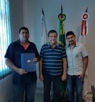 Vice-presidente de Marketing do Conselho Regional de Administração visita Câmara Municipal e apresenta projetos inovadores